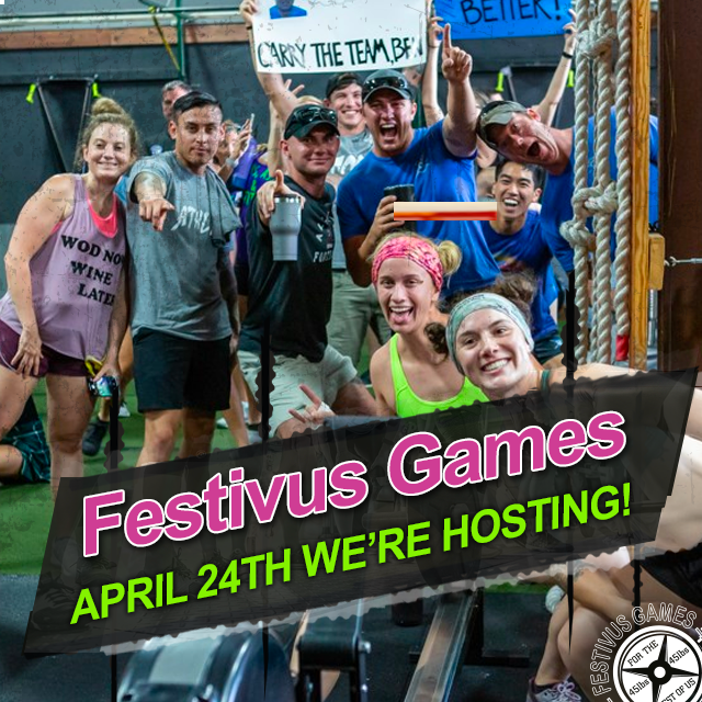 Festivus Games We Are Hosting