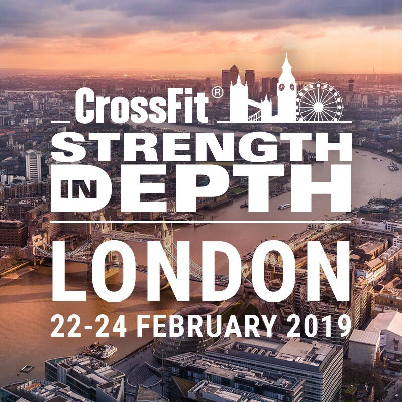 CrossFit® Strength in Depth 2019 Qualifiers | Powered by