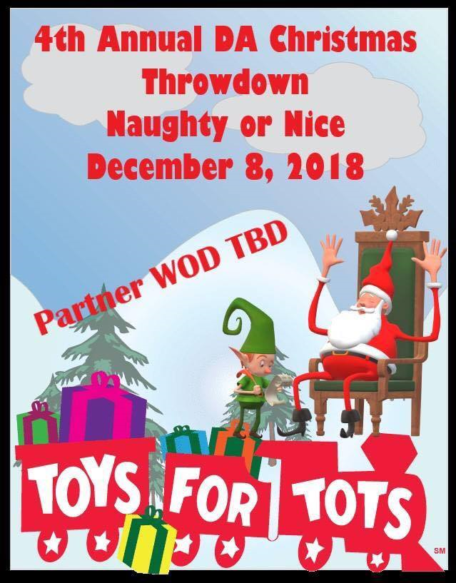 Dynamic Athletics Christmas Throwdown 2018 Powered By Competition Corner Official Site