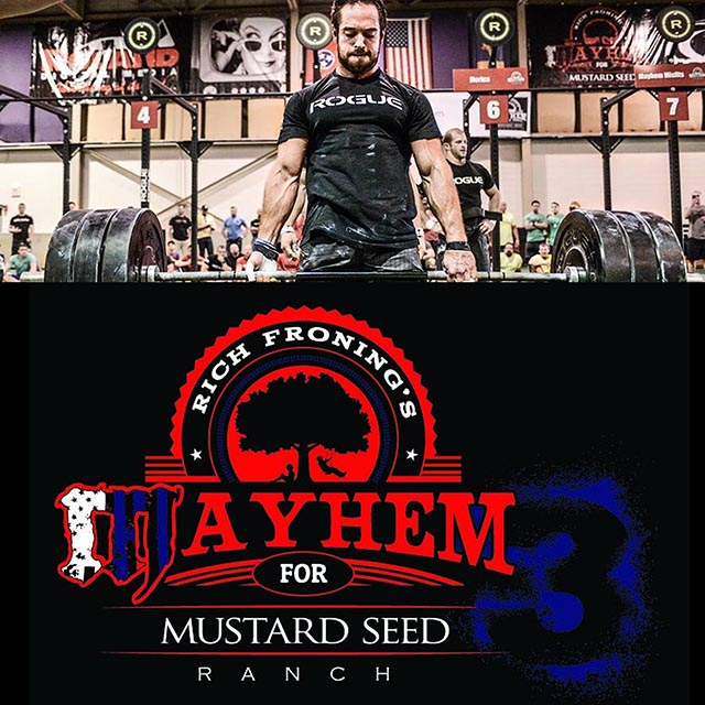 rich froning s mayhem for mustard seed ranch 3 competition corner